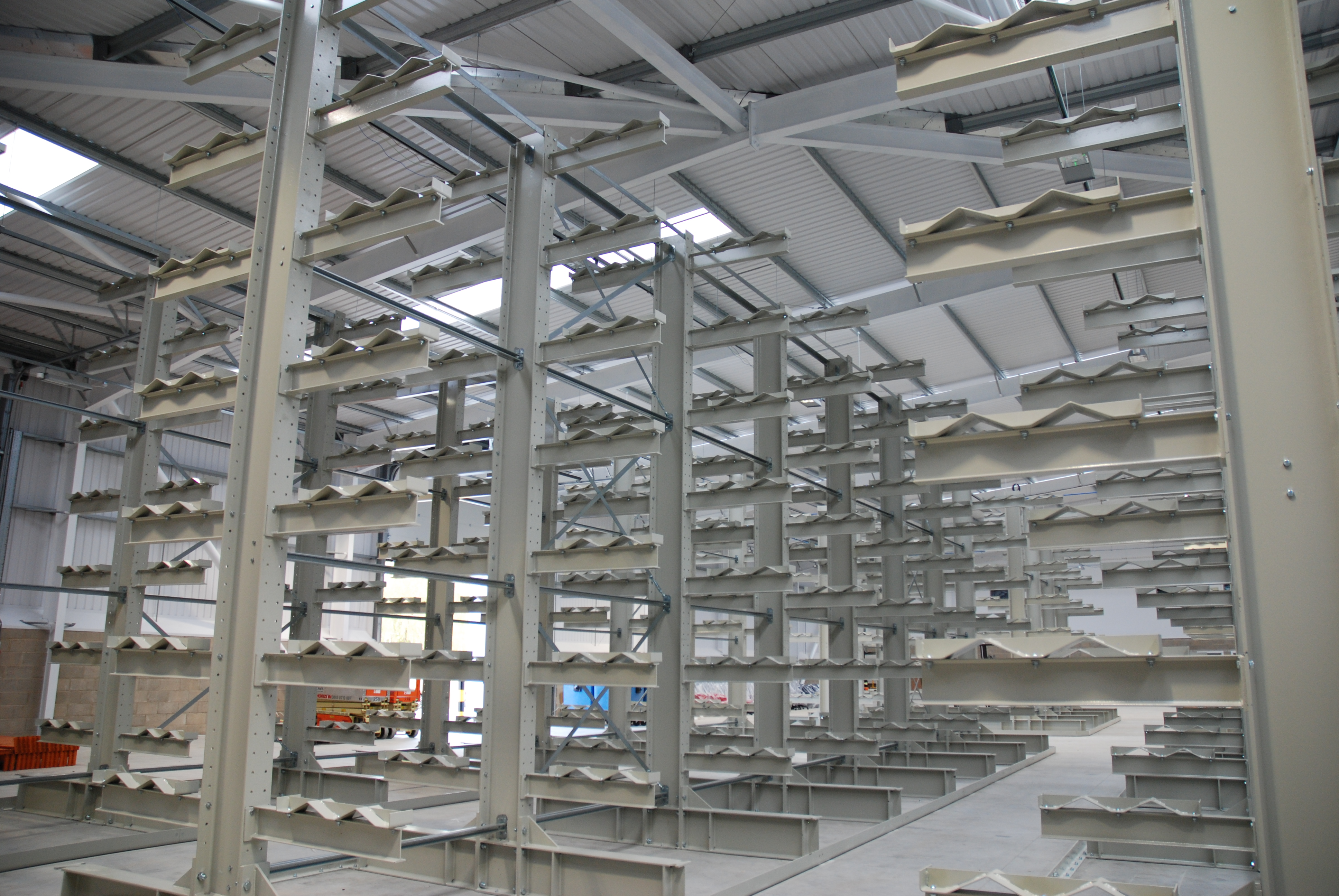 Cantilever Racking for Habasit in Elland, West Yorkshire